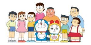 Personajes doraemon