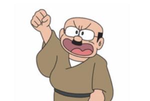 Personajes de Doraemon | Señor Caminari