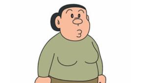 Personajes de Doraemon | Madre de takeshi (gigante)