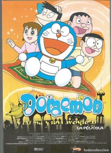 Doraemon y las mil y una aventuras película completa en español