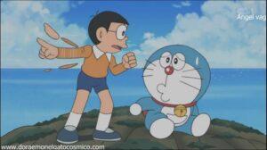 Doraemon Capitulo 074 Cronicas de un dia a la deriva en el pasado
