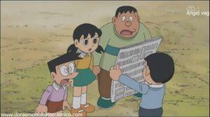 Doraemon Capitulo 076 Descubriendo huellas de dinosaurios