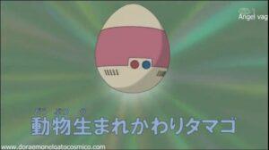 el huevo para transformarse en animal
