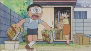 Doraemon Capitulo 112 La camara reduce espacio