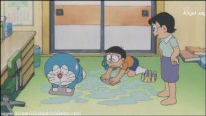 Doraemon Capitulo 118 La sal que moldea el agua