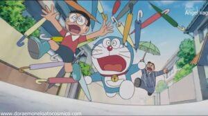 Doraemon Capitulo 20 paraguas raros raros