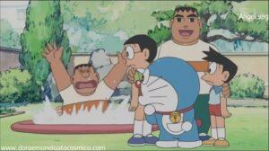 Doraemon Capitulo 30 El lago del leñador