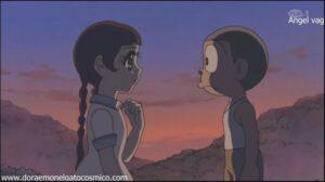 Doraemon Capitulo 32 La chica blanca y pura como usa azucena