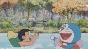 Doraemon Capitulo 54 El broche 4 estaciones