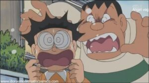 Doraemon Capitulo 60 Las pegatinas iman