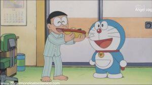 Doraemon Capitulo 63 La guerra de maquetas