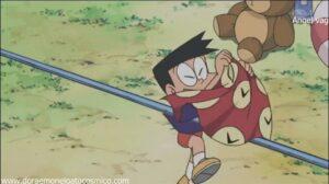 Doraemon Capitulo 9 el pañuelo del tiempo