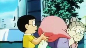 Doraemon La boda de Nobita y Shizuka