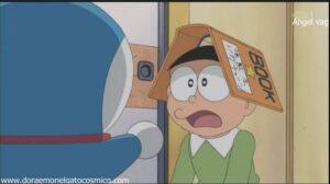 Doraemon capitulo 097 La cubierta del libro humano