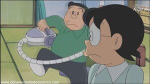 Doraemon Capitulo 128 Un regulador ligeramente pesado