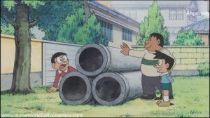 Doraemon Capitulo 131 Un poco de caridad para el robot Dios