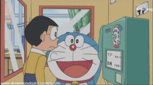 Doraemon La cabina del que pasaria