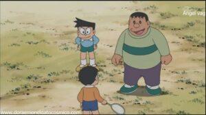 Doraemon Capitulo 150 El kit de Robinson Cruzoe