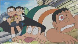 Doraemon Capitulo 172 Super Gigante el defensor de la justicia