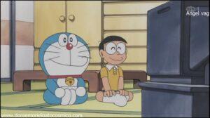 Doraemon Capitulo 173 Super sacoman el heroe de la justisticia