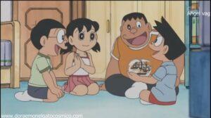 Doraemon Capitulo 180 La gran batalla decisiva de los piratas, el romance del mar del sur