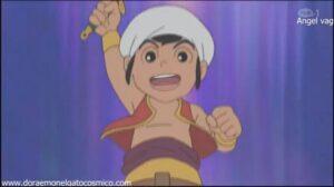 Doraemon Capitulo 196 Son goku va de compras y cenicienta limpia la casa