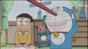 Doraemon Capitulo 199 La flor de pinocho