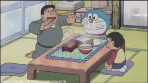 Doraemon Capitulo 201 El mantel del gourmet