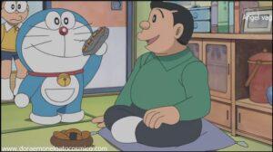 Doraemon Capitulo 214 Una voluntad de piedra