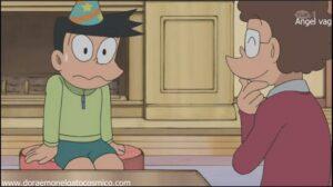 Doraemon Capitulo 215 Suneo va a la peluqueria