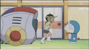 Doraemon Capitulo 217 El pistolero del espacio Parte 1