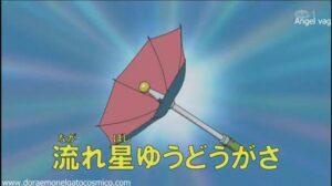 El paraguas atrapa estrellas