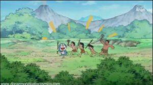 Doraemon Capitulo 251 Un hotel en la edad de piedra