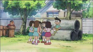 Doraemon Capitulo 257 Predecir el futuro leyendo la lengua