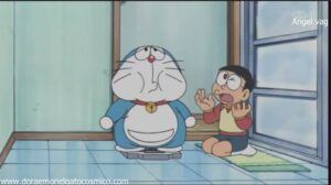 Doraemon Capitulo 294 Doraemon se pone a regimen