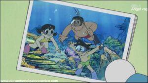 Doraemon Capitulo 305 Caminando por el fondo marino sin mojarse