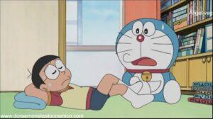 Doraemon Capitulo 306 Invierno en pleno verano