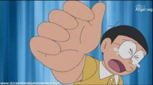 Doraemon Capitulo 315 Menudo lio con él bebe de Nobita