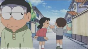 Doraemon Capitulo 319 Pintura en la cara