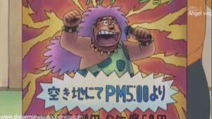 Doraemon Capitulo 323 El terrorifico espectaculo nocturno de Gigante