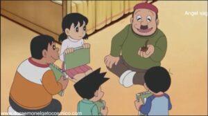 Doraemon Capitulo 333 Nobita tambien es un artista si se le elogia