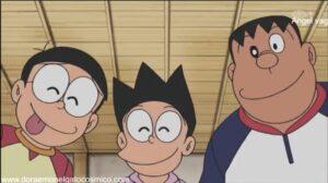 Doraemon Capitulo 341 Mudanza con rodillo aplanador