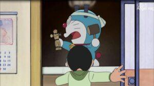 Doraemon Capitulo 345 La maldición del muñeco de la risa
