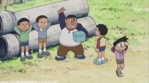 Doraemon Capitulo 348 Gigante tiene miedo