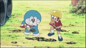 Doraemon Capitulo 377 Vamos al balneario con Shizuka