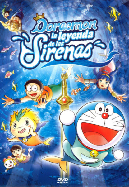 Doraemon La Leyenda de las Sirenas