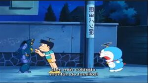 Doraemon y el ejercito del hombres de hierro