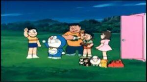 Doraemon y la fábrica de juguetes