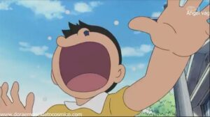Doraemon Capitulo 411 Nobita detiene a Nobita