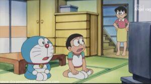 Doraemon Capitulo 416 A la escuela en nube